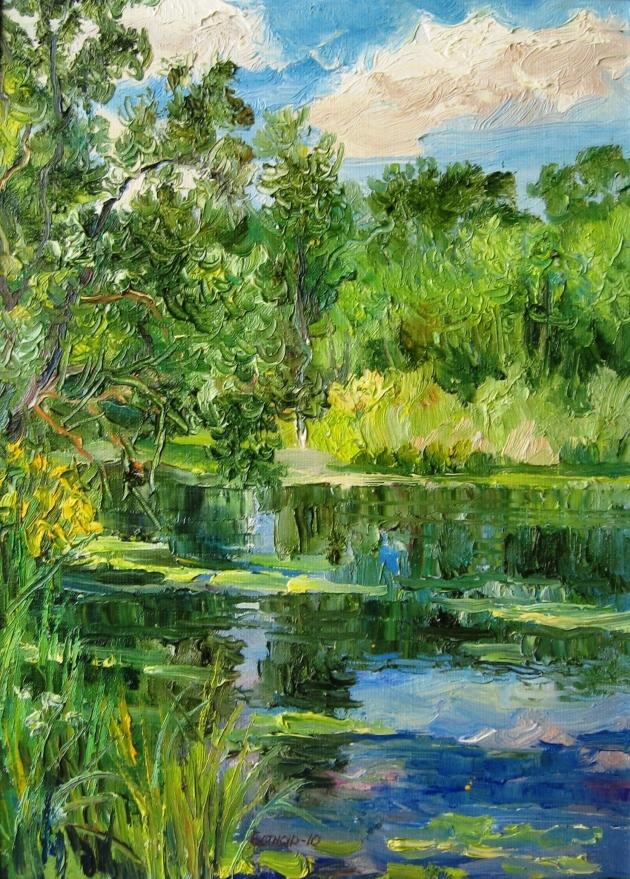 Выставка живописи украинского художника Юрия Ботнара