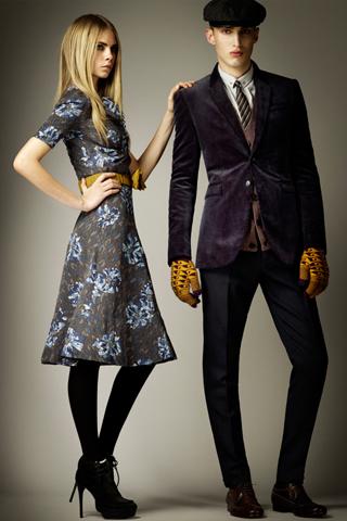 Новые коллекции pre-fal 2012 Burberry, Carolina Herrera и Oscar de la Renta