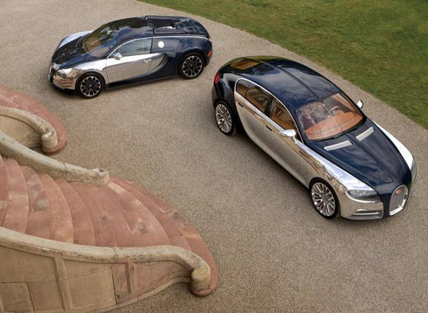 Новый Bugatti Galibier запущен в серийное производство