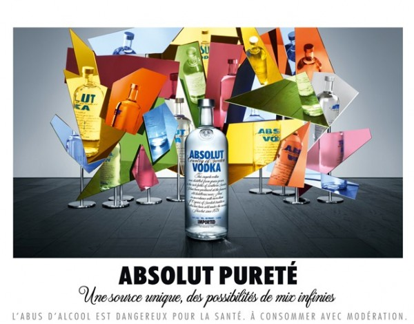 Новая реклама  Absolut Vodka
