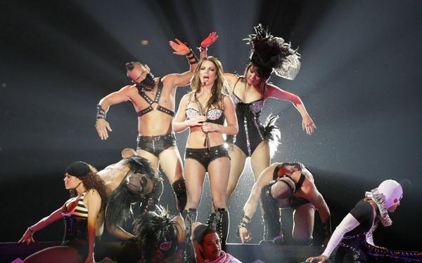 Первый концерт Бритни Спирс в Киеве