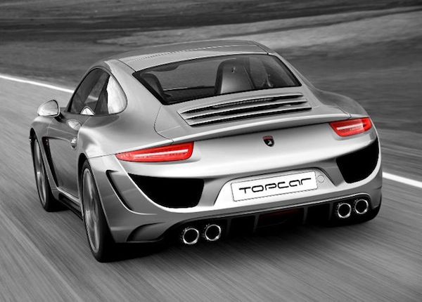 Porsche 991 от ателье TOPCAR