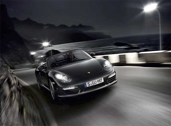 Лимитированная серия Porsche Boxster S Black Edition