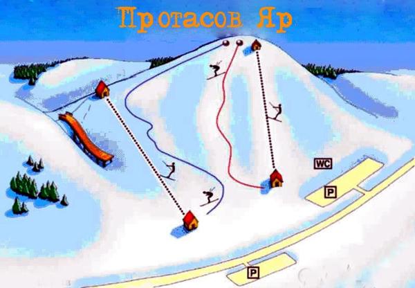 Протасов Яр — горнолыжный комплекс в центре Киева