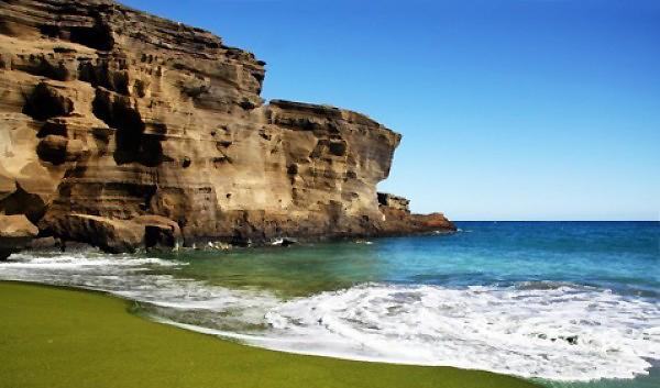 Разноцветные пляжи в разных уголках нашей планеты