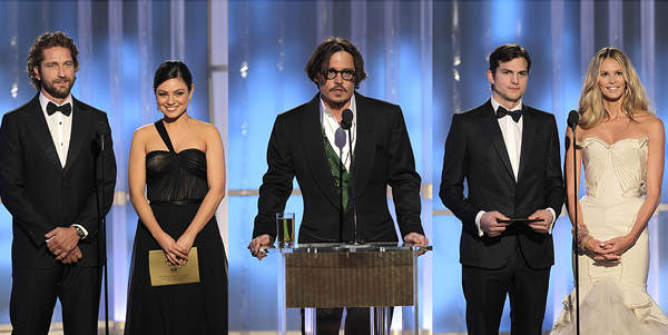Репетиция перед «Оскаром»: состоялась раздача «Золотых глобусов»