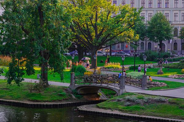 Рига – город на реке Даугава
