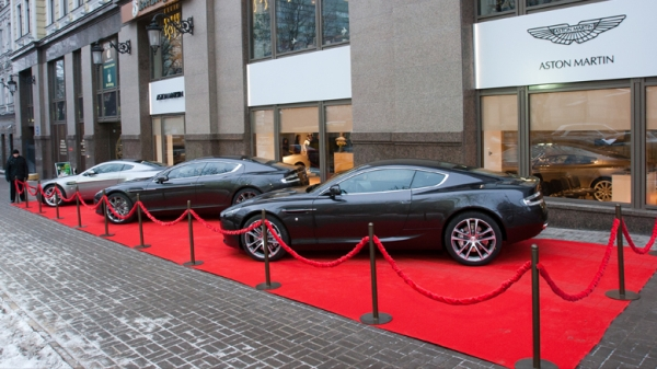Салон Aston Martin в Киеве