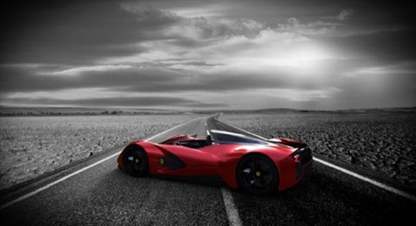 Sexy beast от Ferrari