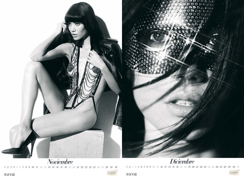 Календарь Harper's Bazaar Spain 2011