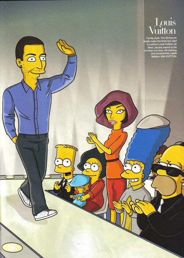 Симпсоны отправляются в Париж с Линдой Евангелистой
