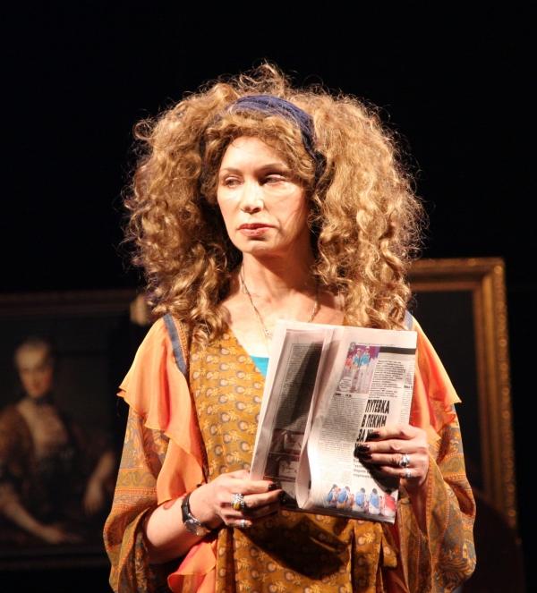Спектакль «Золотая мама или 13-я пуговица Наполеона»