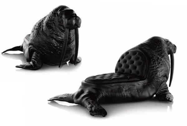 Стулья в виде животных от Максимо Риера