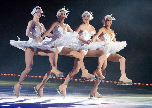 Театр ледовых миниатюр под руководством Игоря Бобрина
