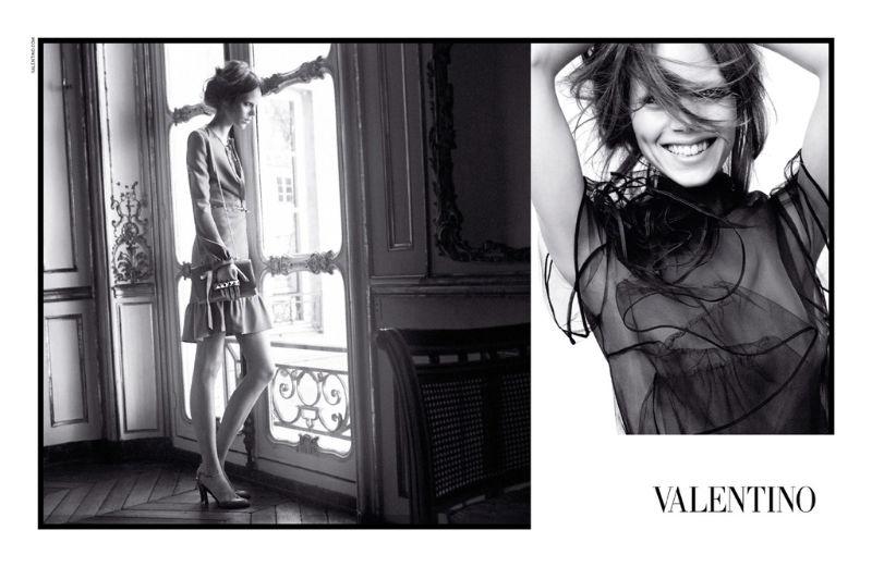 Весенняя кампания Valentino