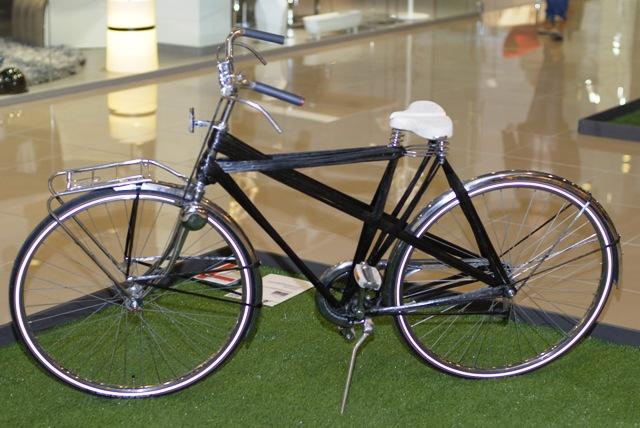 Велосипеды необычного дизайна появились в Киеве
