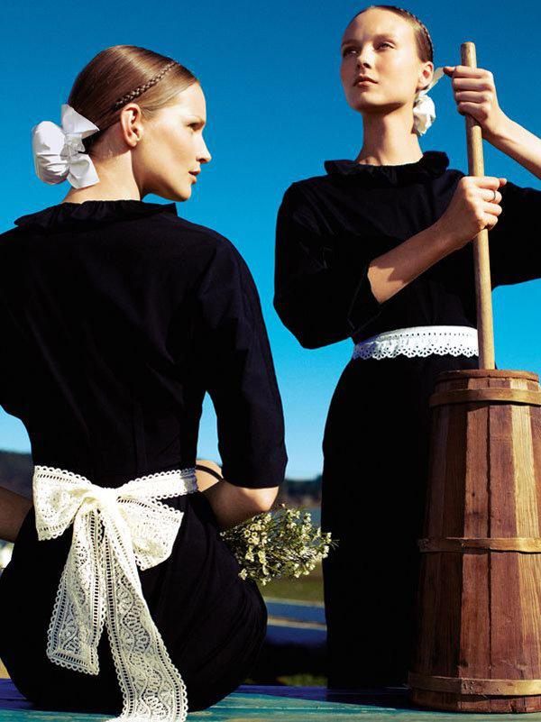 Фотосессия Алексeя Любомирски в февральском выпуске  Vogue Germany 2011