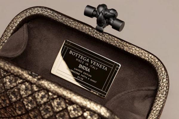Выставка клатчей Bottega Veneta