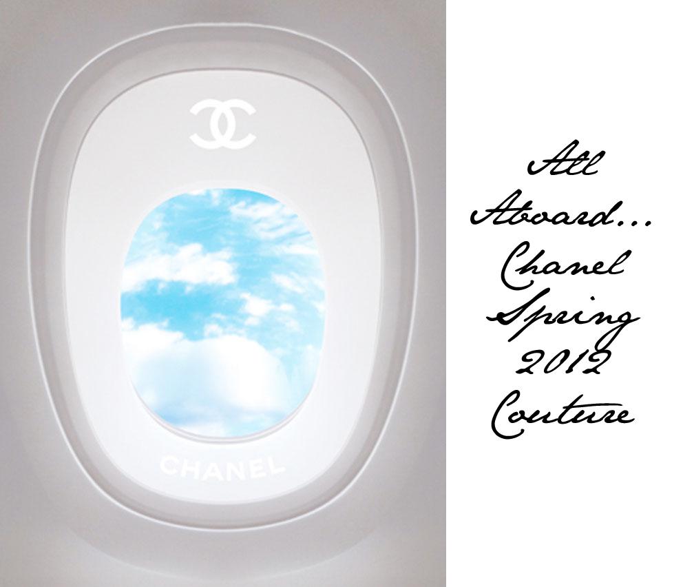 Взлетаем в голубую даль с Chanel