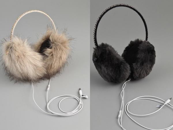 Зимние наушники от Juicy Couture