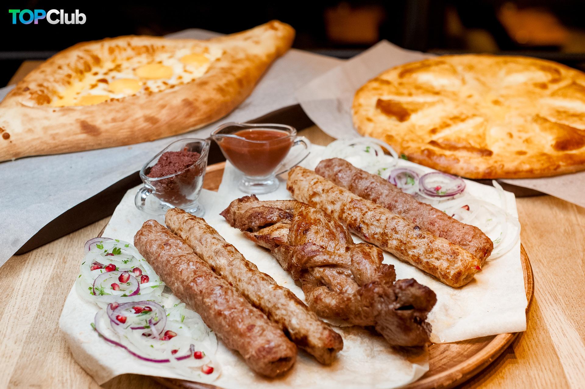 Грузинский праздник сбора урожая в ресторане «Suluguni» фото 9