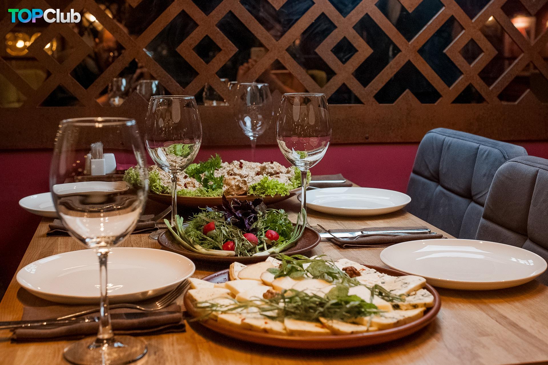 Грузинский праздник сбора урожая в ресторане «Suluguni» фото 10
