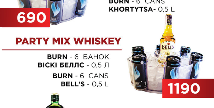 Party Alcohol MIX