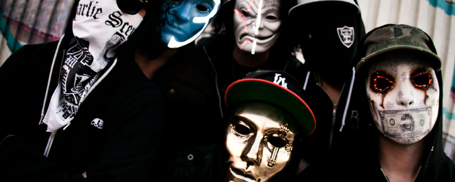 Концерт группы Hollywood Undead