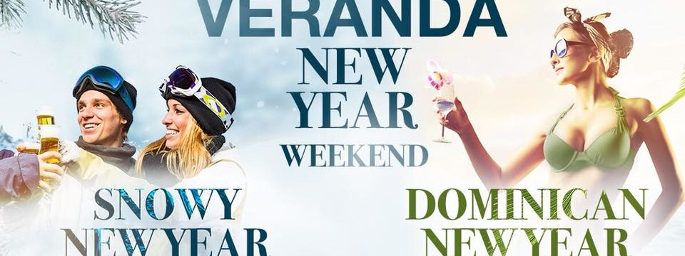 Snowy New Year & Dominican New Year
