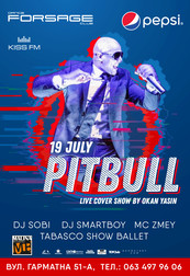 Pitbull live cover show (Germany)