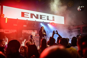 Kiss FM birthday afterparty. Eneli live