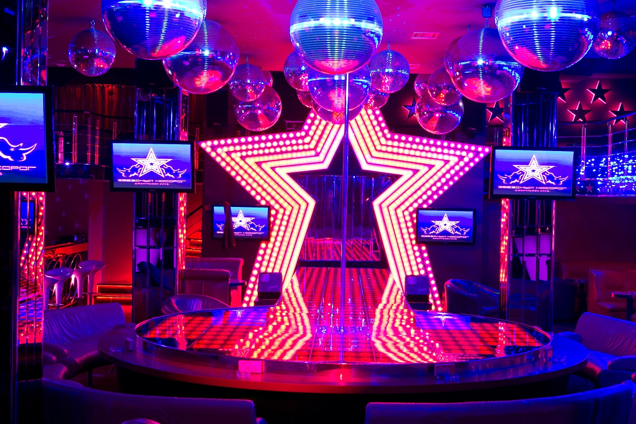 Ресторан зоряный стриптиз